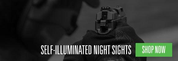 Self-Illuminated Night Sights