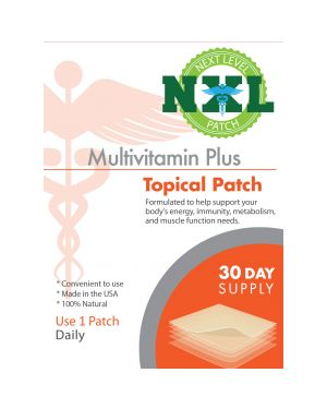 NXL Patch Topical Multivitamin Plus Patch (30 x Patches)