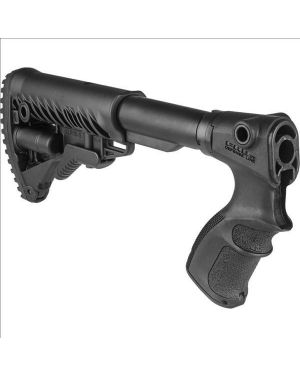 M4-Style Collapsible Buttstock for Remington 870 - AGR870-FK - Black