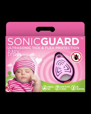 SonicGuard BABY Ultrasonic tick and flea repeller for kids below 6 years old