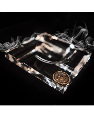 Valentia Cigars Luxury Crystal Ashtray