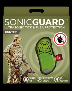 SonicGuard HUNTER Ultrasonic tick and flea repeller for hunters