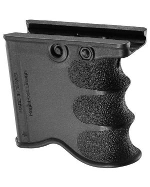 M16/M4/AR-15 Quick Release Front Grip and Magazine Holder - Black