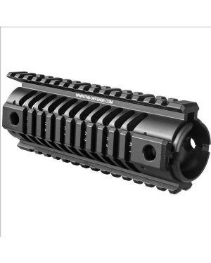 IDF Aluminum Quad Rail Handguards for M4/AR-15 - Carbine Length