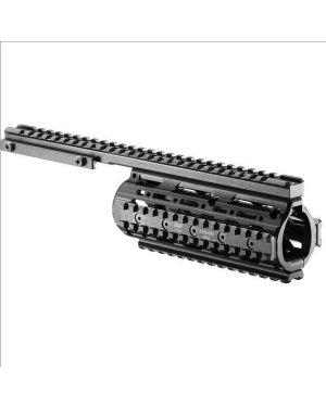 M4/AR-15 Modular Aluminum Free-Float Rail System - Flat Top - VFR