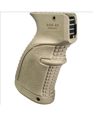 Rubberized Pistol Grip for AK-47/74 - AGR47 - Flat Dark Earth