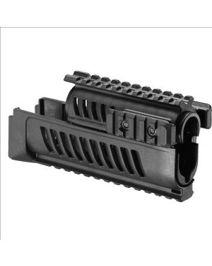 AK-47/74 Rail System Handguard Set - Black