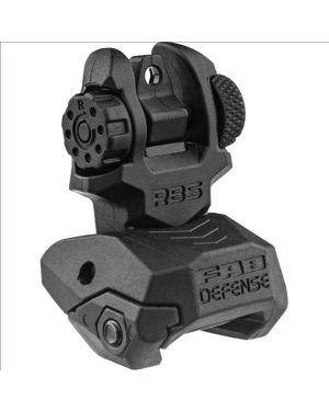 Folding Back-up Sight - Rear - Black