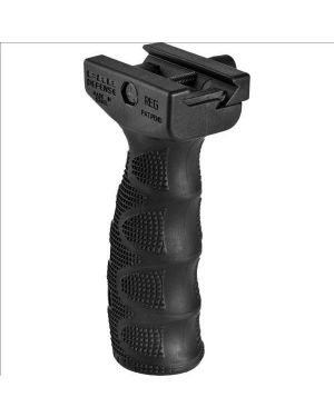 Rubber Overmolded Ergonomic Foregrip - Black