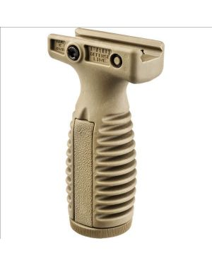Quick Release Tactical Vertical Grip with Battery Compartment - Flat Dark Earth