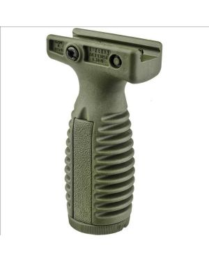 Quick Release Tactical Vertical Grip with Battery Compartment - OD Green