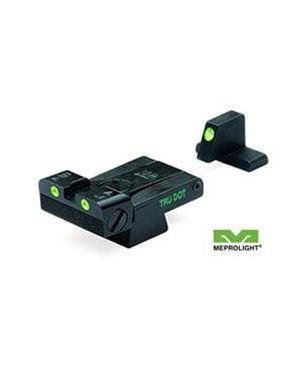 Heckler & Koch USP Tru-Dot Adjustable Night Sight Set - USP Full size, Tactical & Expert