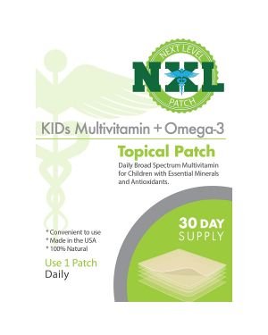 NXL Patch Kids Multivitamin Plus Omega-3 (30 x Patches)