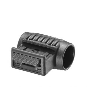 "1"" Tactical Light Side Mount - Black"
