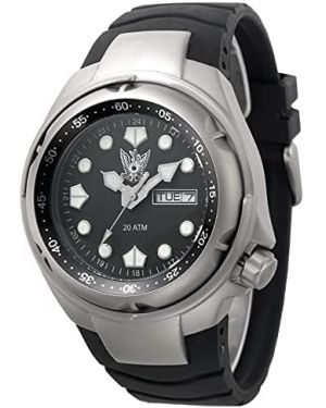 Israeli IDF AIR FORCE 20ATM Diving Watch - 42mm Stainless steel case