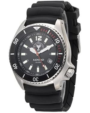 Israeli MOSSAD 20ATM Diving Watch - 42mm Stainless steel case