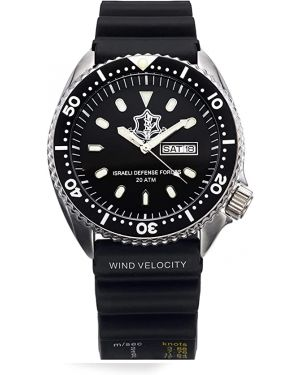 Israeli IDF (Tzahal) 20ATM Diving Watch - 42mm Stainless steel case