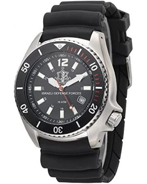 Israeli IDF (Tzahal) 10ATM Diving Watch - 42mm Stainless steel case