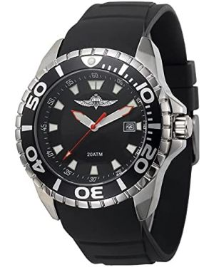 Israeli IDF Paratroopers 20ATM Diving Watch - 42mm Stainless steel case