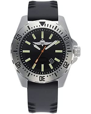 Israeli IDF Paratroopers 20ATM Diving Watch - 44mm Stainless steel case