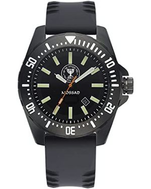 Israeli MOSSAD 10ATM Diving Watch - 42mm Stainless steel case