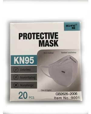 KN95 Protective Mask - Box of 20
