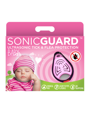 SonicGuard BABY Ultrasonic tick and flea repeller for kids below 6 years old