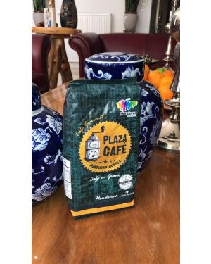 Plaza Café – Award winning Finca Santa Elena coffee gourmet coffee from Honduras - 100% Arabica - Ground Coffee - 1lb
