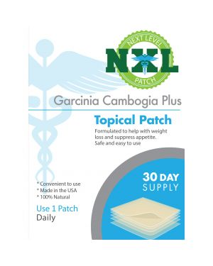 Nxl Patch Garcinia Cambogia Plus Topical Natural Appetite Suppressant 30 X Patches The Mako Group