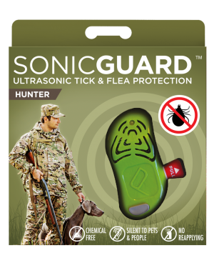 SonicGuard HUNTER Ultrasonic tick and flea repeller for hunters