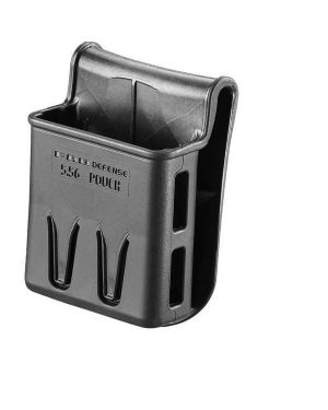Polymer Magazine Pouch with Belt Paddle for 5.56mm Magazines - 556 Pouch