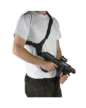 Tactical Single-Point Bungee Sling - Black