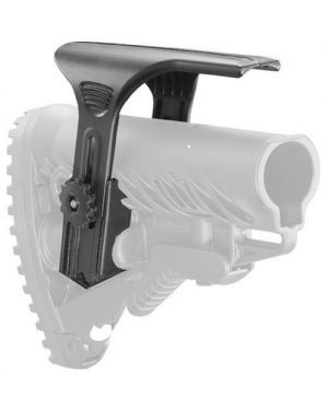 Adjustable Cheek Riser for GLR16 Stock - Black