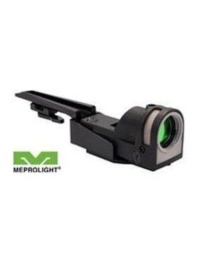 Mepro M21 Self-Powered Day/Night Reflex Sight with Dust Cover and Carry Handle Mount - Bullseye
