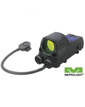 Mepro MOR Tri-Powered Reflex Sight with Red Laser Pointer