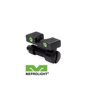 Smith & Wesson Tru-Dot Night Sight - K, L, and N Frame Revolvers - REAR SIGHT ONLY