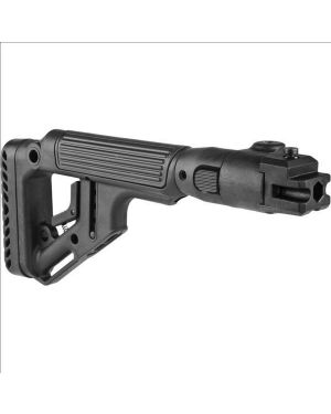 Tactical Folding Buttstock w/Cheekpiece for AK-47/74 - Polymer joint - UAS-AKP