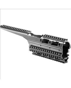 Aluminum 4-Rail Integrated Rail System with scope mount for AK-47/74 - VFR-AK