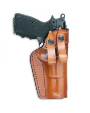 "Special IWB Leather Holster - 5"" 1911 - Brown - Left"