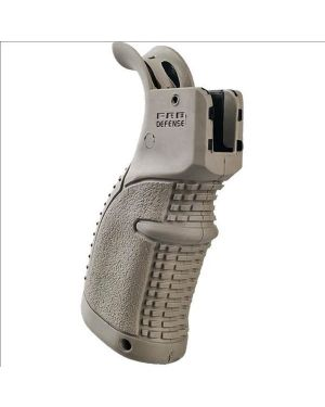 Rubberized Pistol Grip for M16/M4/AR-15 - AGR-43 - Flat Dark Earth
