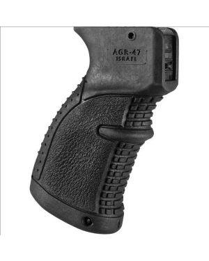 Rubberized Pistol Grip for AK-47/74 - AGR47 - Black