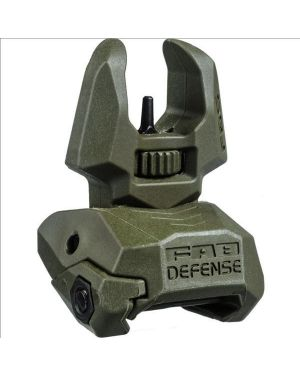 Folding Back-up Sight - Front - FBS - OD Green