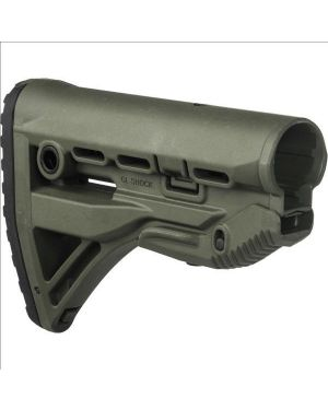 Recoil-reducing M4/AR-15 Stock - OD Green