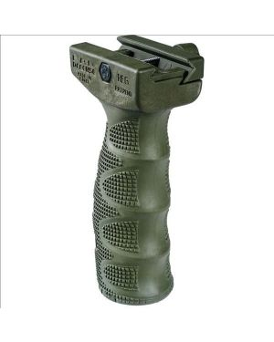Rubber Overmolded Ergonomic Foregrip - OD Green