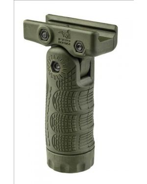 7-Position Tactical Folding Grip with Waterproof Storage - TFL - OD Green