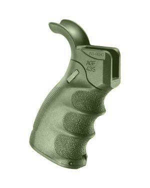 Ergonomic Folding Pistol Grip for M16/M4/AR-15 - AGF-43S OD-Green