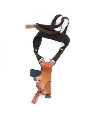 Leather Hinge Shoulder Holster - Large Frame - Left