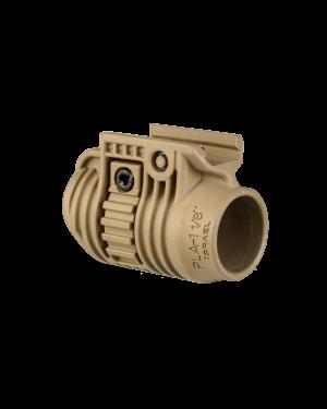 "Tactical Light or Laser Adapter - 1 1/8"" - Flat Dark Earth"