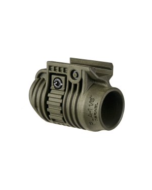 """Tactical Light or Laser Adapter - 1 1/8"""" - OD Green"""