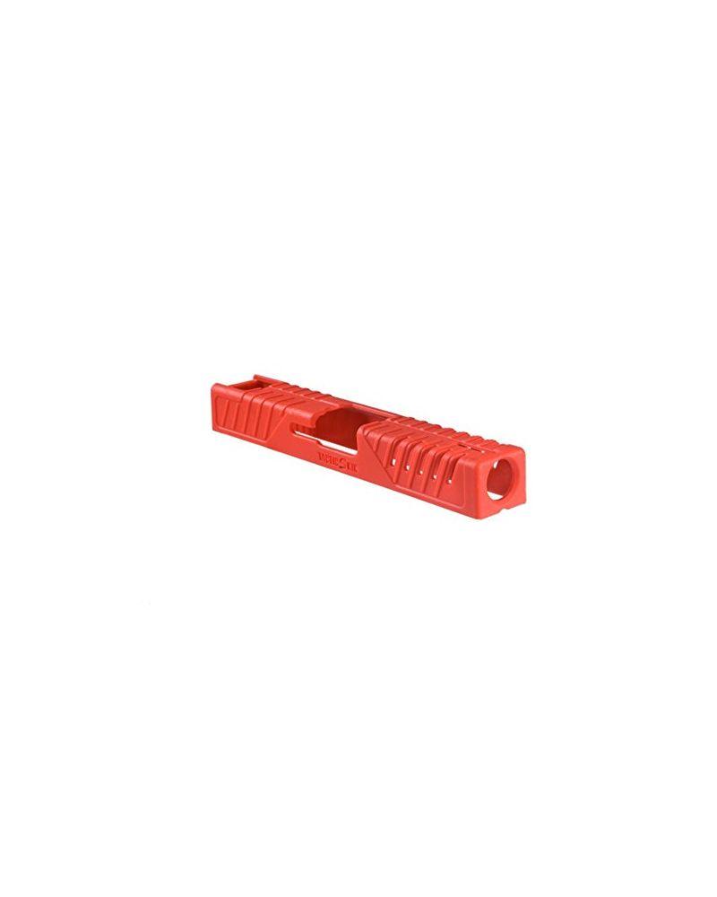Tactic Skin Slide Cover Glock 17 - Red